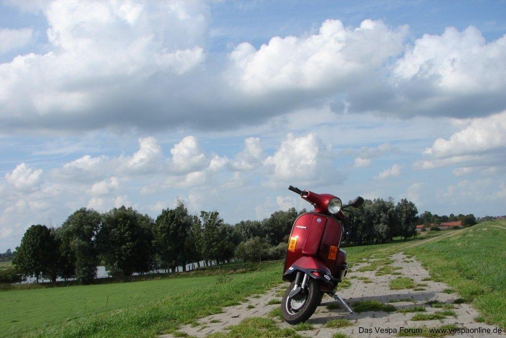 Vespa im schönen Ostfriesland!