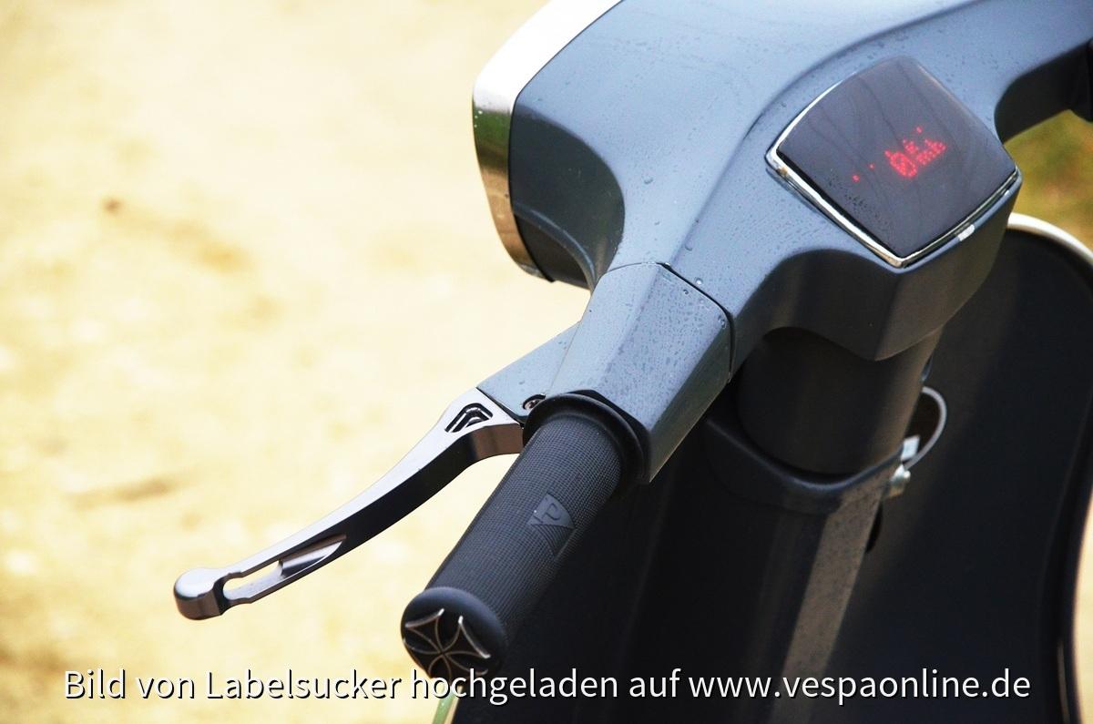 Motogadget Motoscope mini + GS Bremshebel