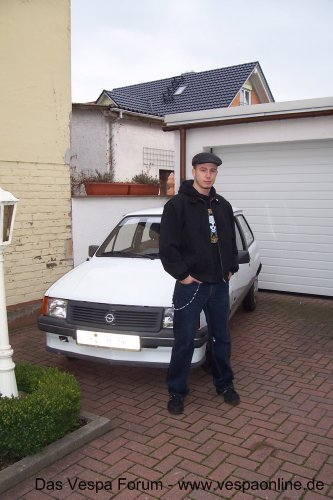 Opel Corsa A '88 *Rust in Pieces*