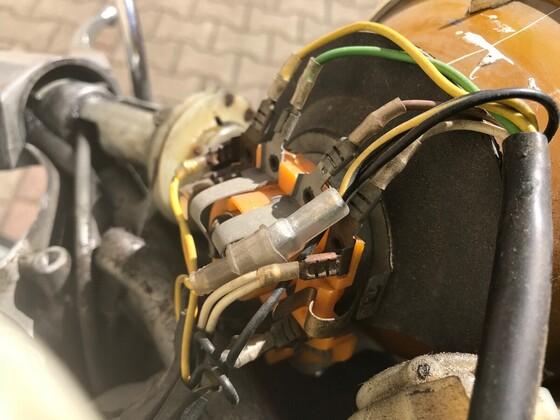 P200E Lampe Verkabelung