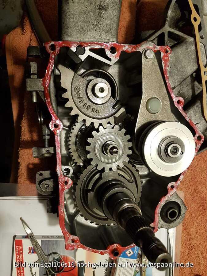 Getriebe PK S 50-125 Automatica