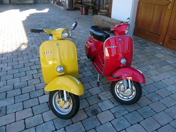 Meine liebsten!V50R in gelb und ET3 in Rot.