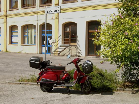 Mit der PK nach Pontedera