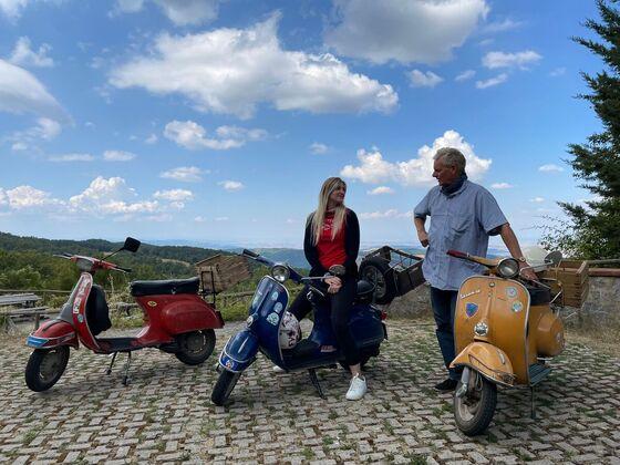 Ausflug in der Toskana