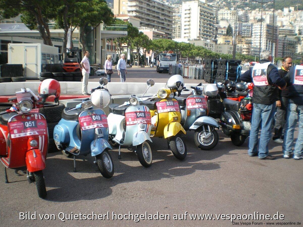 Vespa Rally Monaco 2008