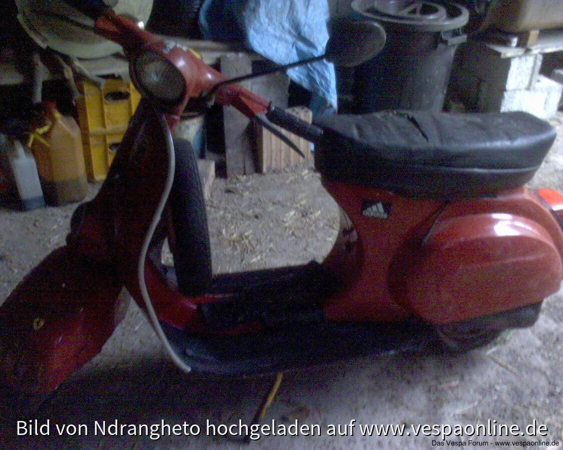 Meine Piaggio Vespa 50 L