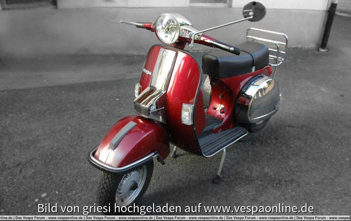 Meine Vespa P125X