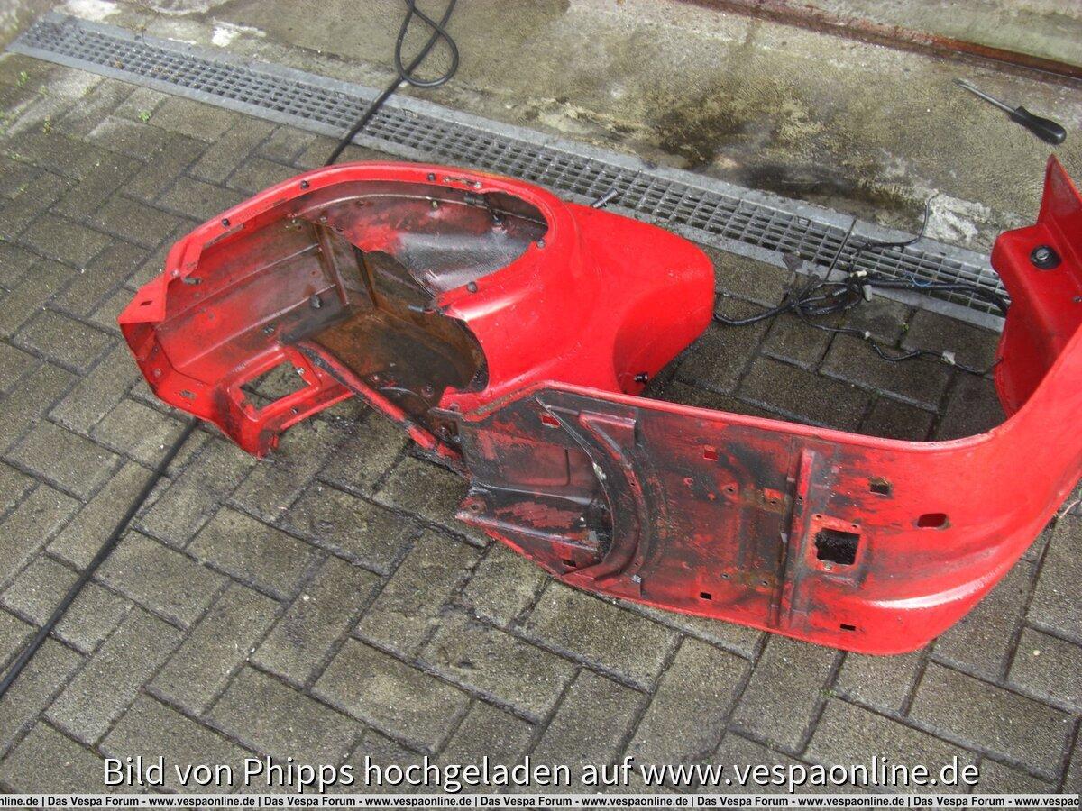 Restaurationsprojekt Vespa PK 50 XL
