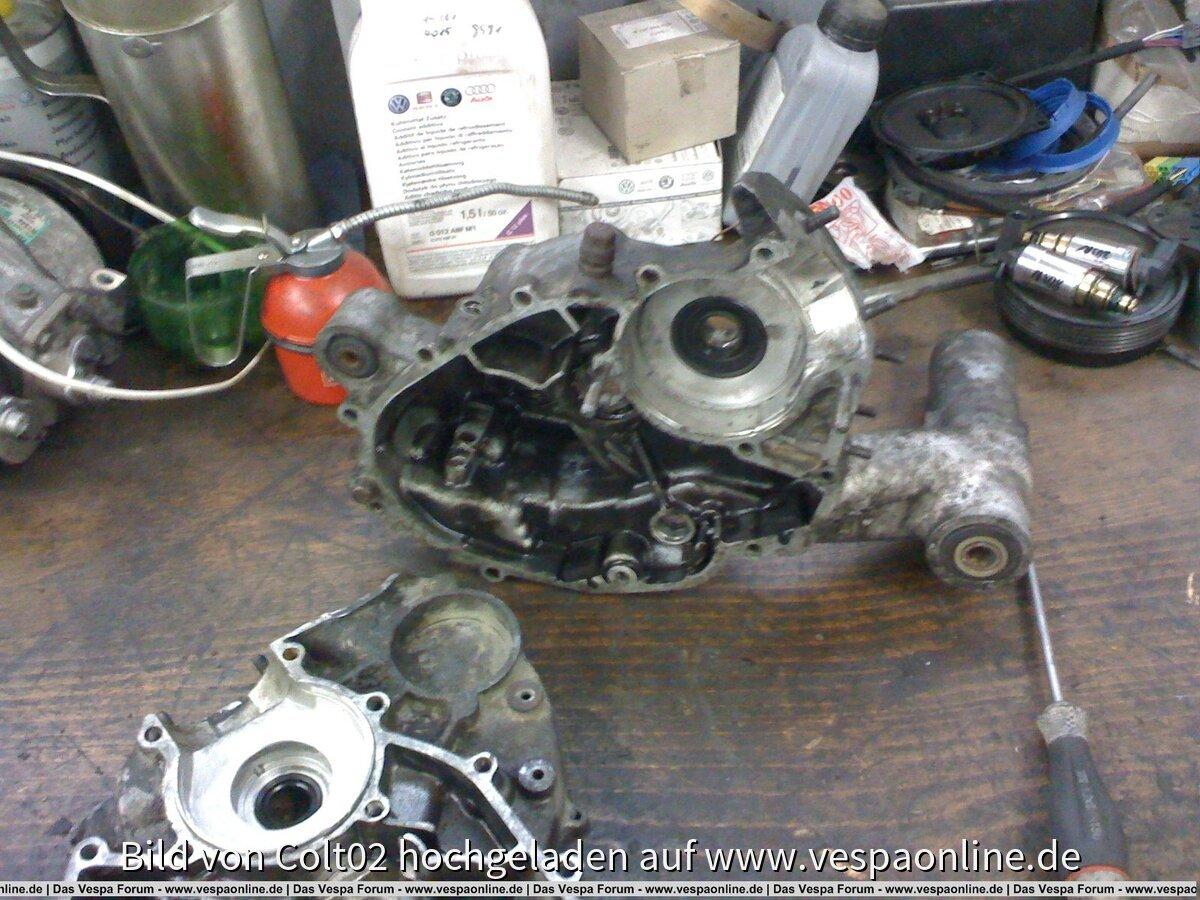 Restauration Vespa PK50S 08/09