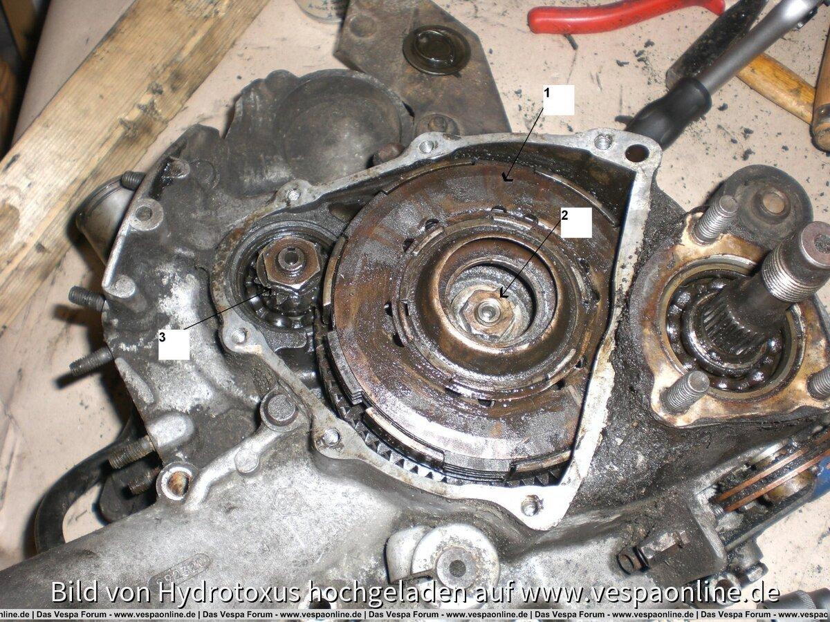 VespaPK50 Motor