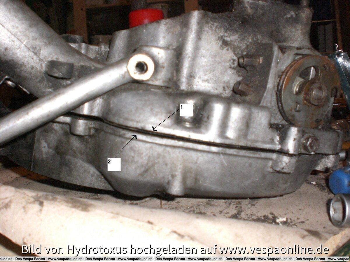 Vespa PK50 Motor