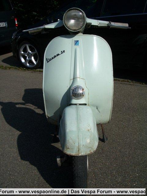 Vespa V50 1.Serie 07.05.1965