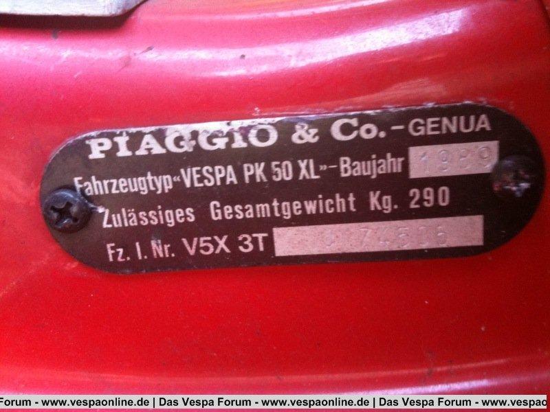 PK 50 XL 1 '88 (Sparversion)