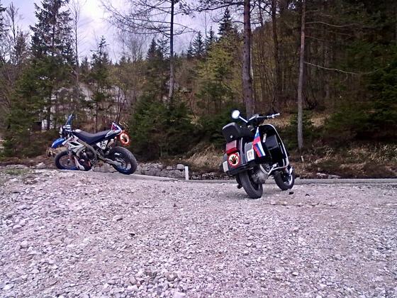 Tour nach Slowenien über Wurzenpass