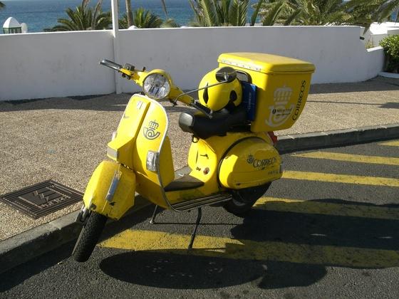 Postvespa Spainen