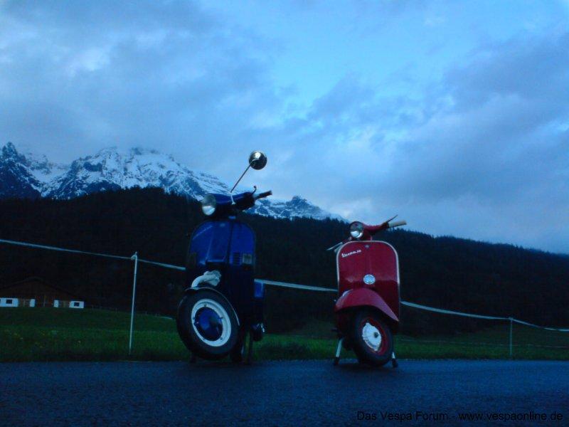 Manuel und Gandis kleine Ausfahrt in Tirol