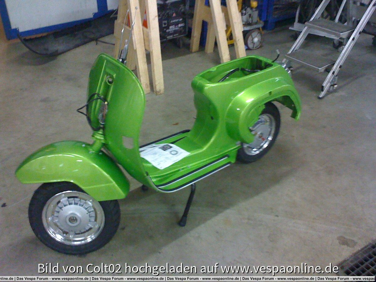 Restauration Vespa PK50S 08/09