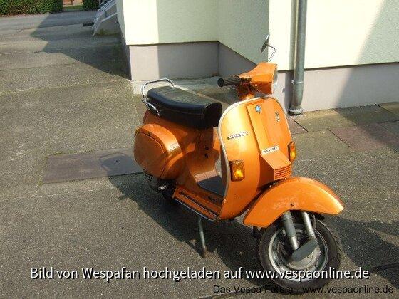 PK50S in Perllack-Orange