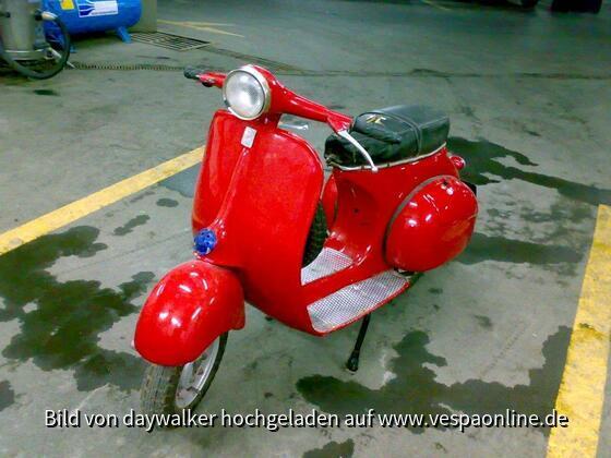 Garagenfund 1962 Vespa GS 150????