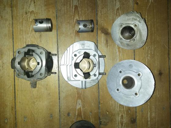 Zylinder 50ccm Alu & Ori und 75ccm DR