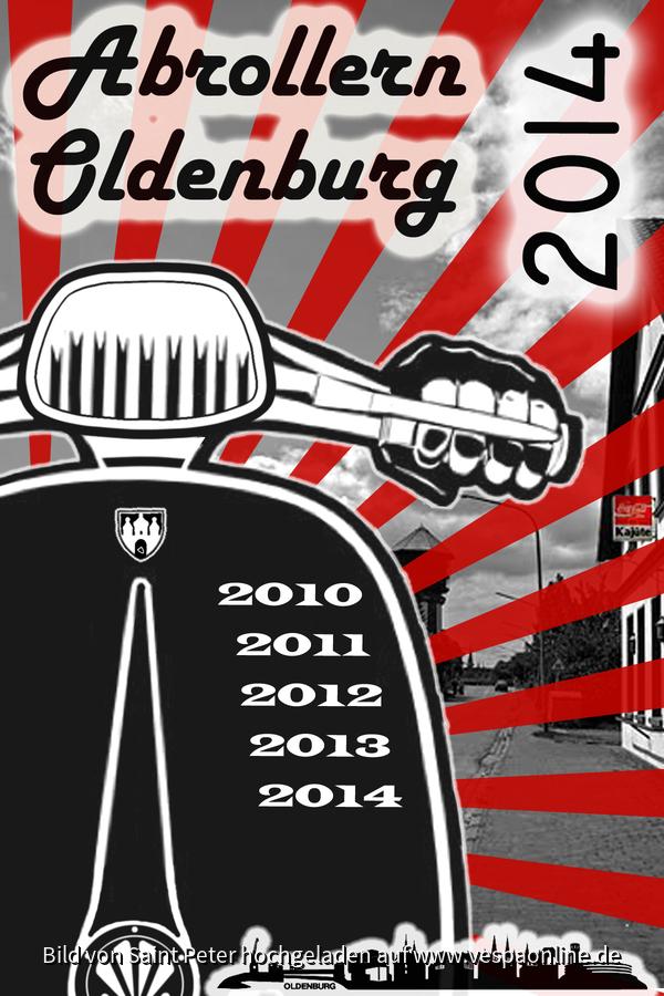 Abrollern Oldenburg 2014