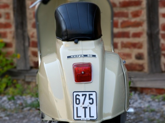 My new Vespa :)