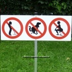 pinkeln verboten ;-)