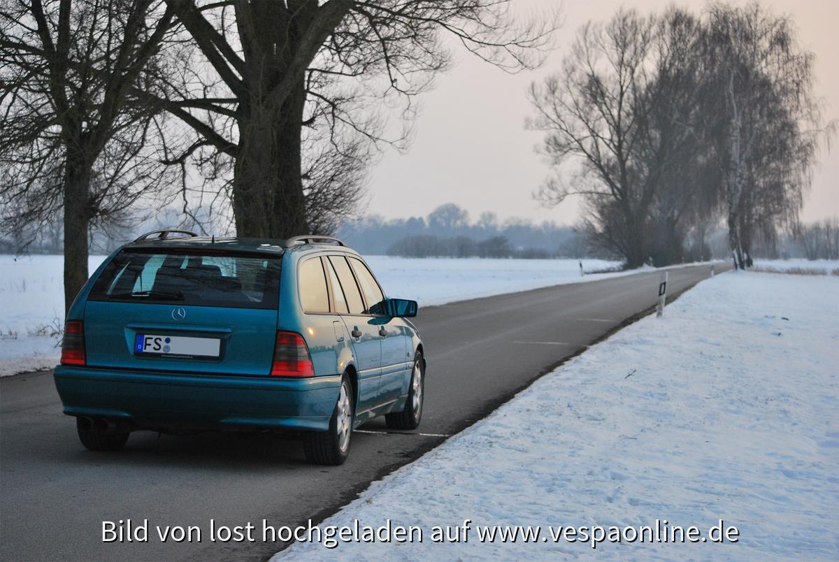 Benz hinten-rechts