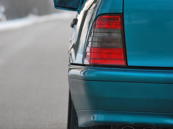 Benz hinten_Endrohr