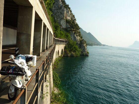 Lago de Garda..kühle 37 Grad
