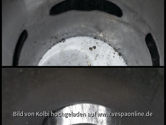 50ccm Zylinder Auslass fräsen Steuerzeiten
