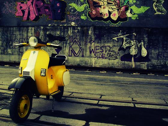 Vespa - Graffiti