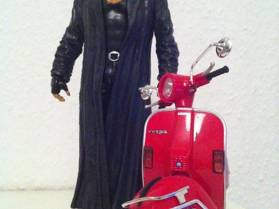 The Undertaker goes Vespa