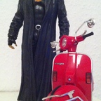 The Undertaker goes Vespa