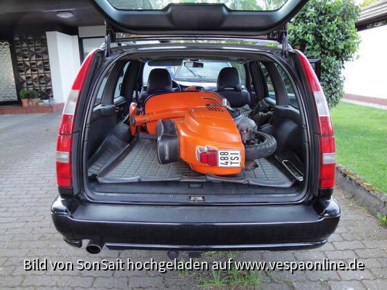 Neuzugang, eine orangene Ratte - mit 133cm³