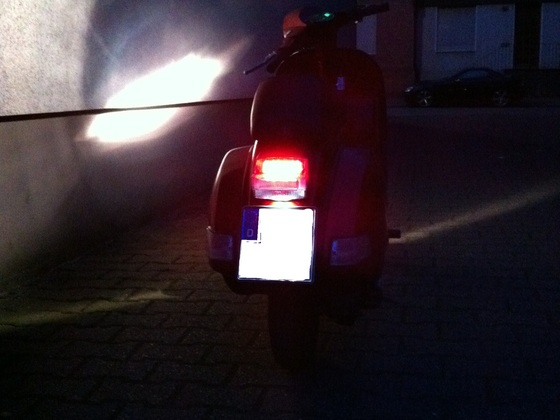 LED Rück- und Kennzeichenbeleuchtung