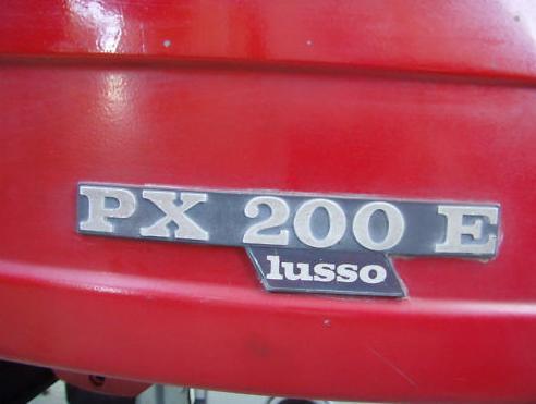 Vespa P200 E Lusso