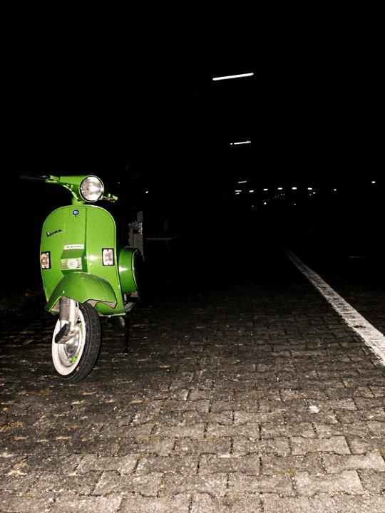 Vespa in the Dark