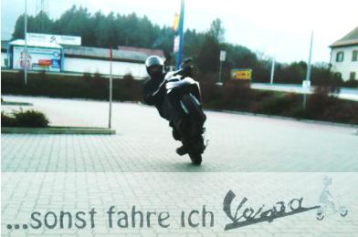 Piaggio Wheely training