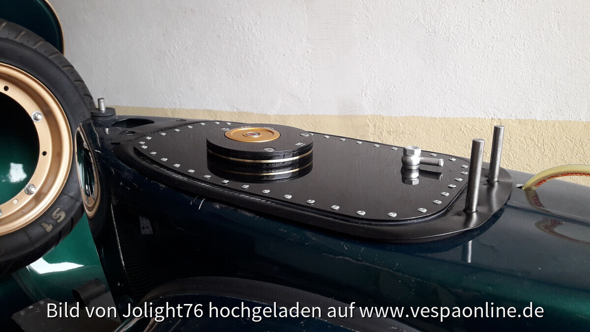 Custom Tankumbau Vespa P150X
