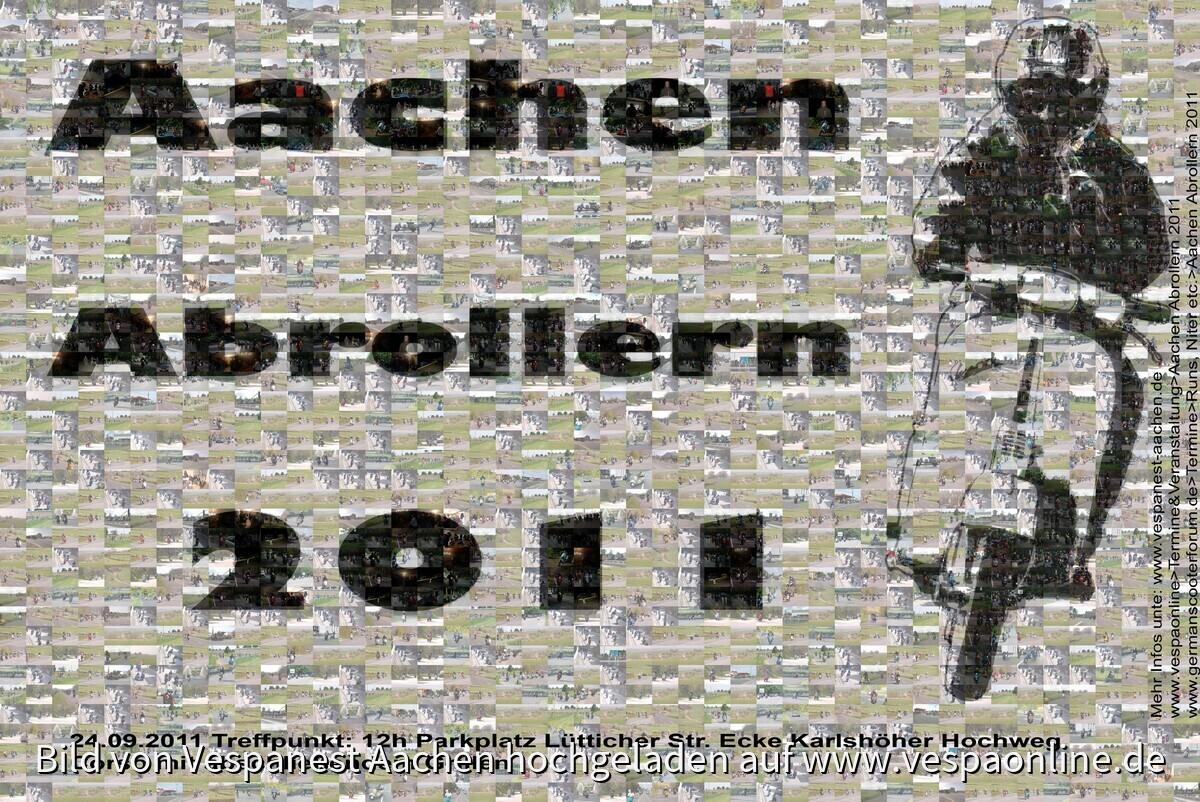 Abrollern Aachen 2011