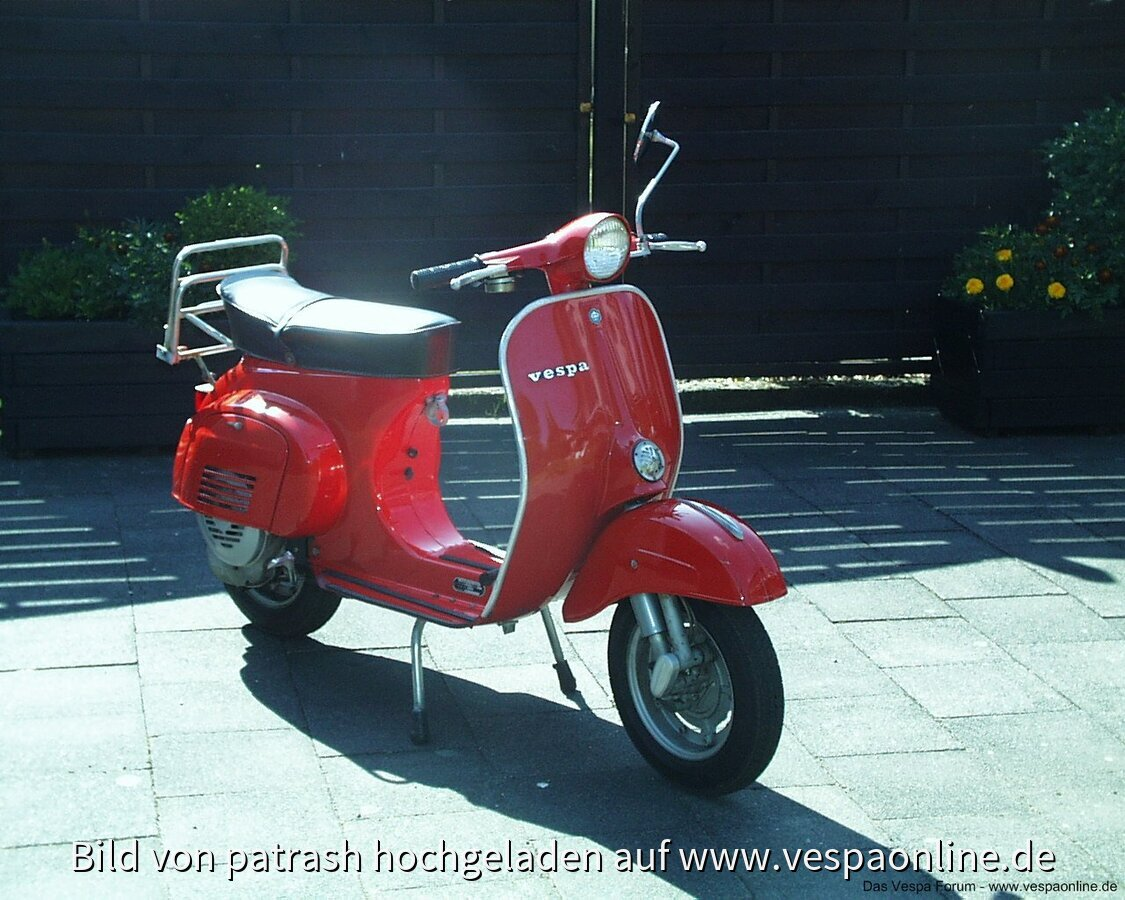 Vespa 50/R bj1981 mit originalen 1200km