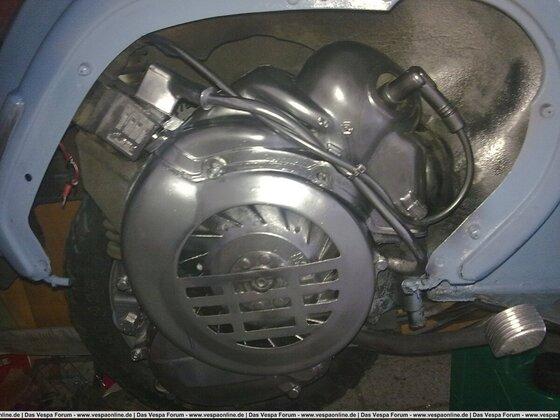 gesäuperter motor