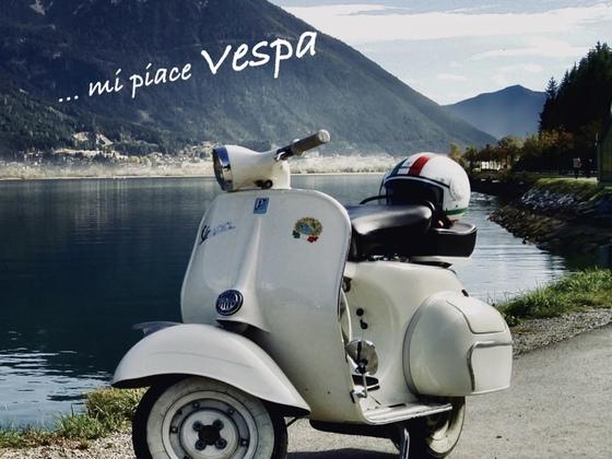 Meine 125 Sprint VNB6T am Achensee/Tirol
