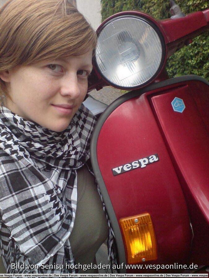 Ich und meine Vespa