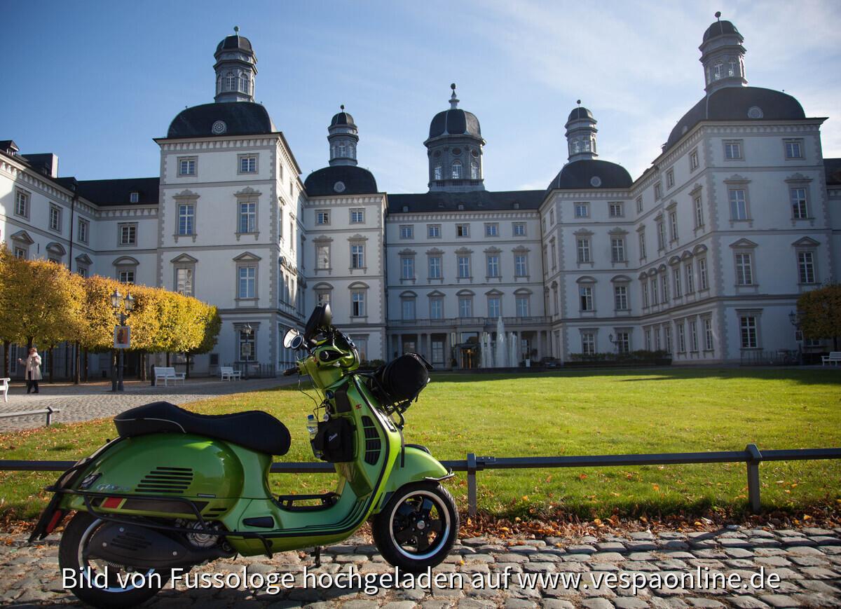 GTS 300 Ins richtige Licht gesetzt...Schloss Bensberg