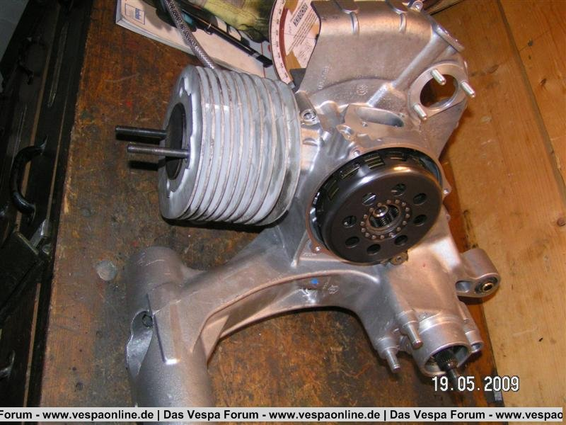 Motor228 Kuwe und Einlassbearbeitung