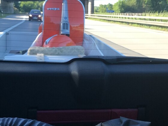 Vespa 50 Special kauf und Motor Überholung