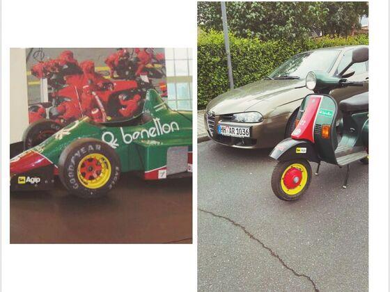 Benetton Vespa