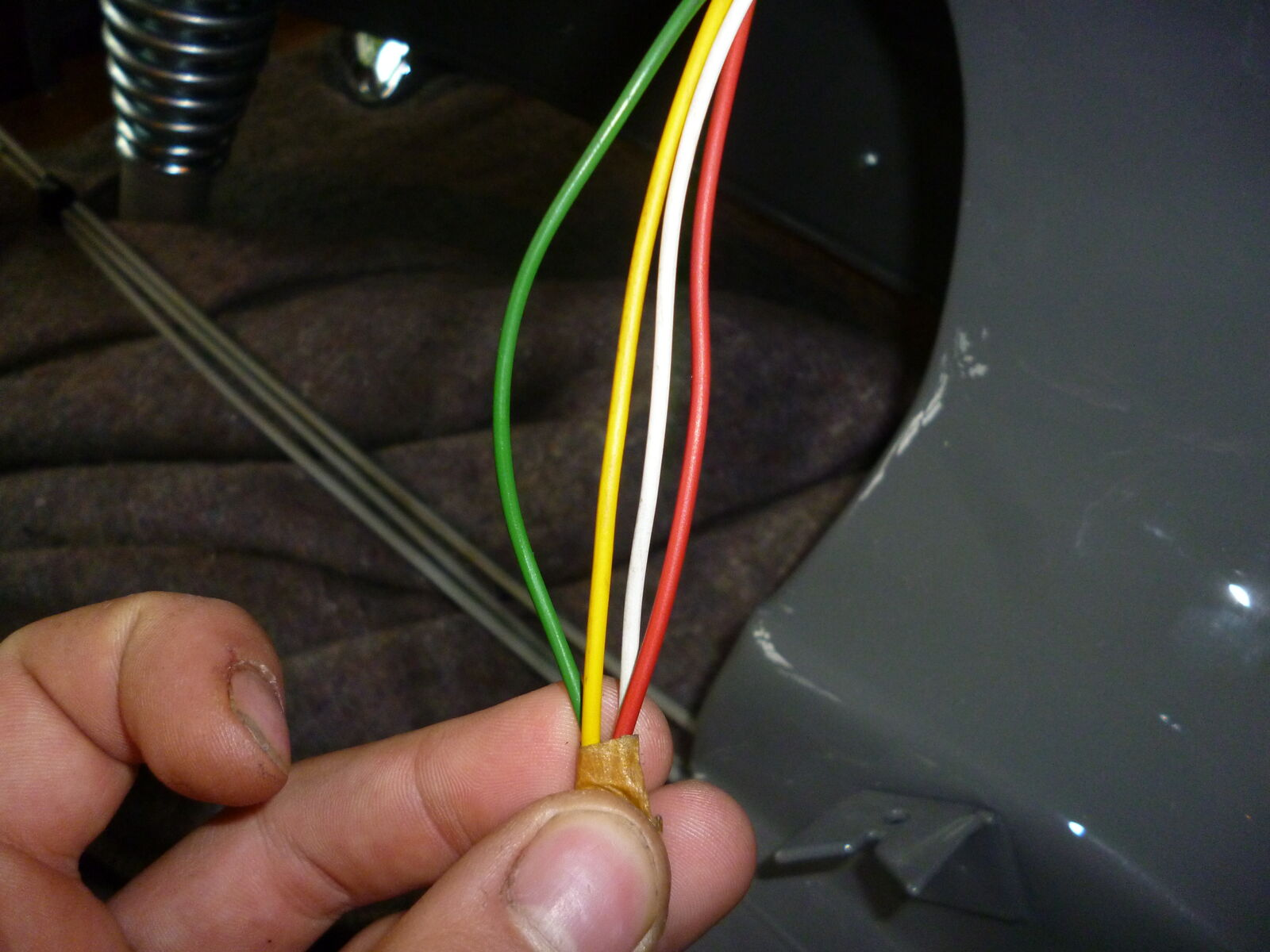 Vespa Vl 1 Struzzo Verkabelung Und Zndung Anschlussproblem Wiring Diagram Vl1